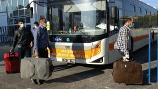 Irak'tan gelen 236 Türk vatandaşı KYK yurduna yerleştirildi