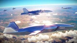 İşte hava harbinin geleceği! İnsansız savaş uçağı projesinde kilometre taşına erişildi