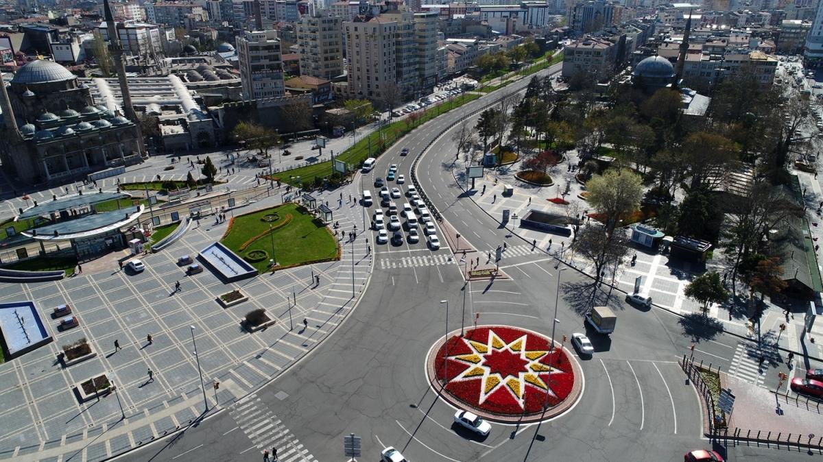 Yurt genelinde sokaklarda koronavirüs sessizliği