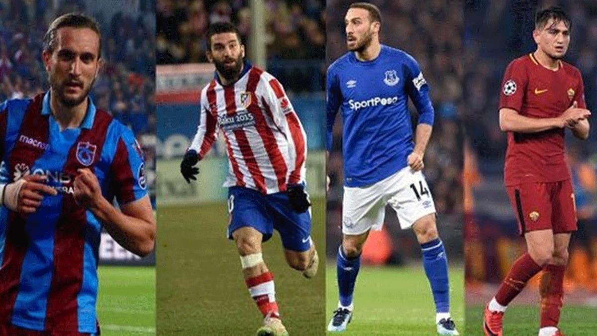 İşte Türkiye'den rekor kırarak yurt dışına giden futbolcular!