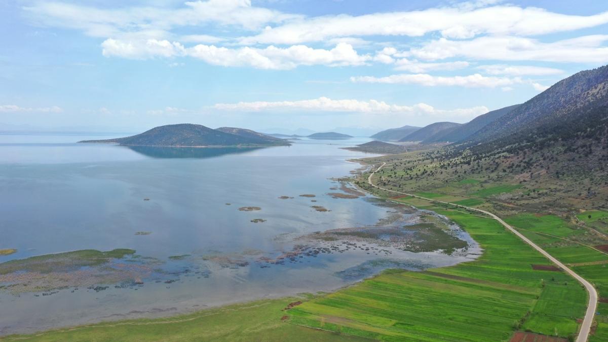 Türkiye'nin yerleşim yeri olan tek göl adası... Koronavirüs o adaya ulaşamadı!