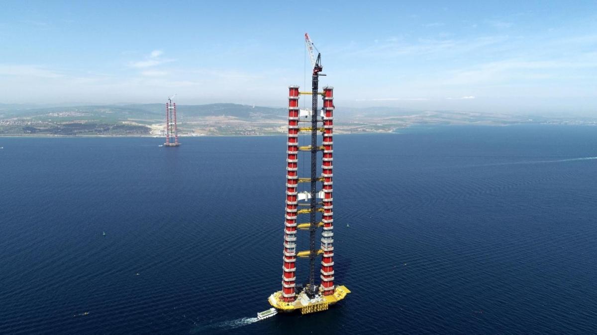 Dünyada ilk olacak! 68 metre kaldı