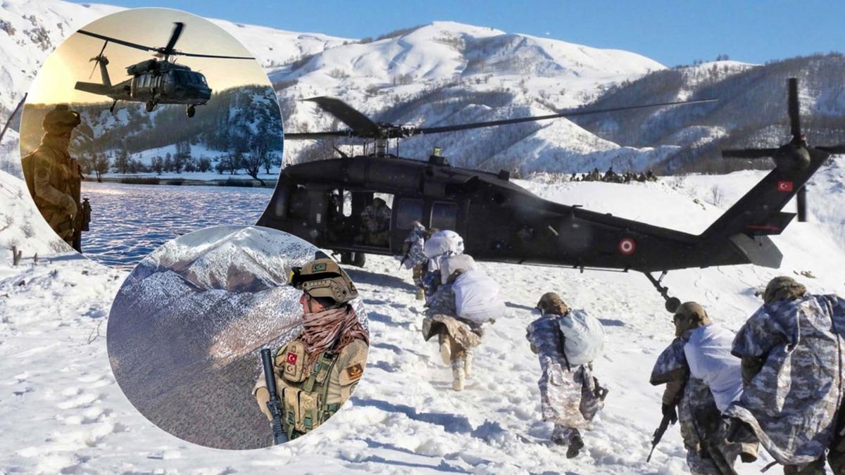 Eli kanlı teröristlerin korkulu rüyası: Dağların aslanları düşmana göz açtırmıyor