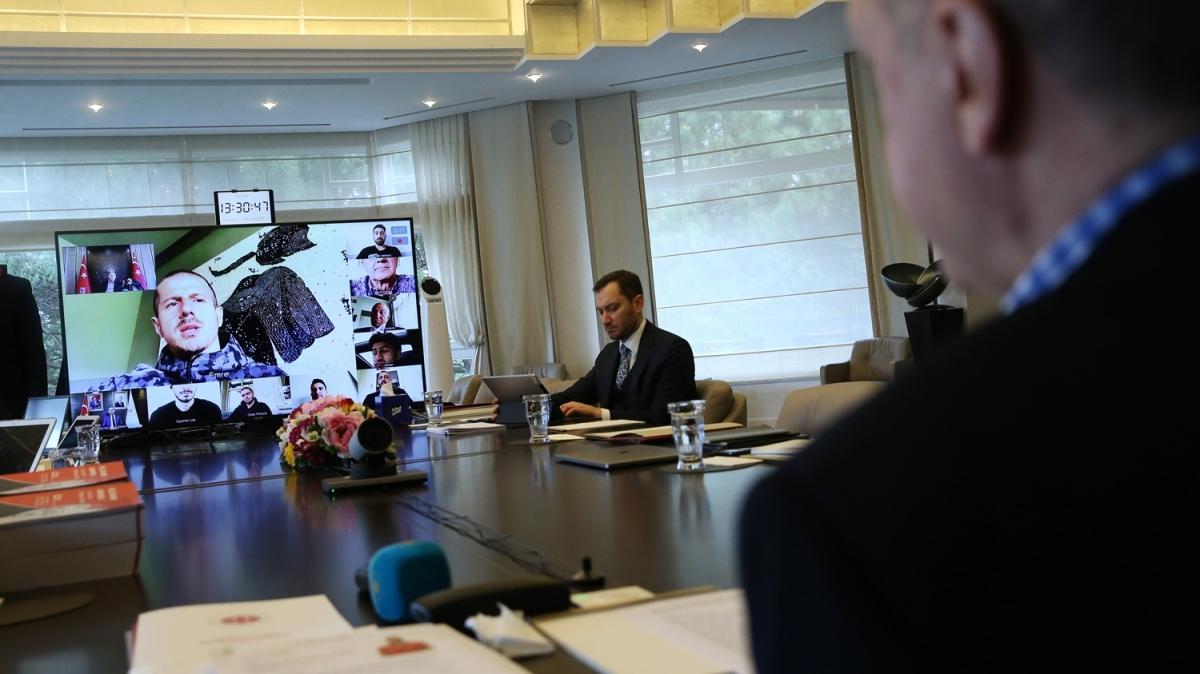 Başkan Erdoğan, A Milli Futbol Takımı oyuncularıyla görüştü