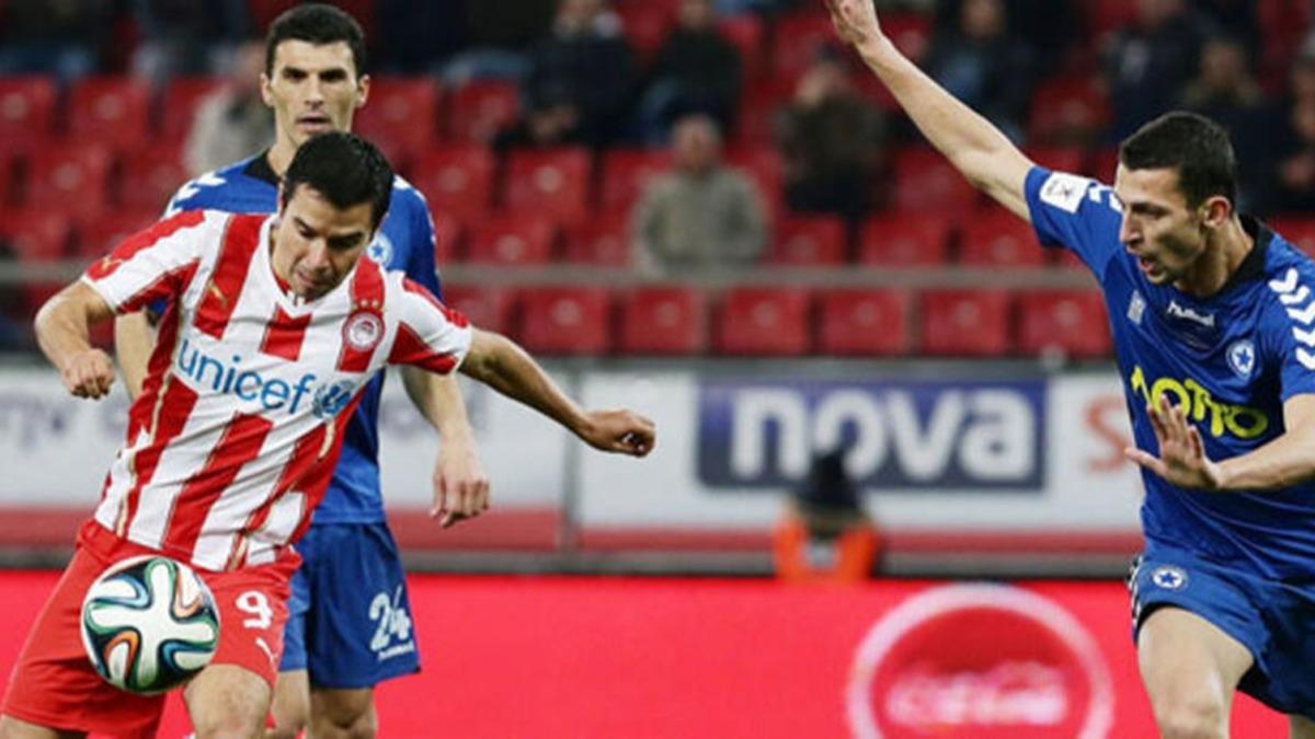 Yunanistan'da bahis şikesi! Olmypiakos - Atromitos maçında...