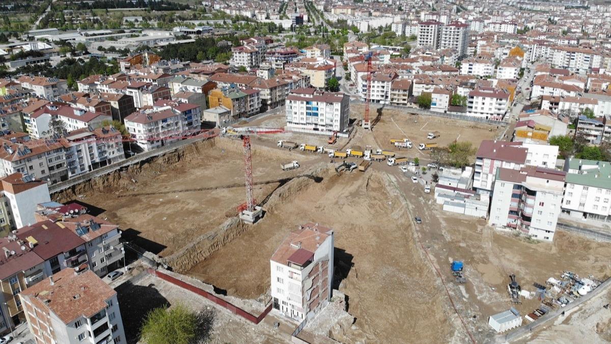 Başkan Erdoğan talimatı vermişti! O mahallede ilk temel atıldı