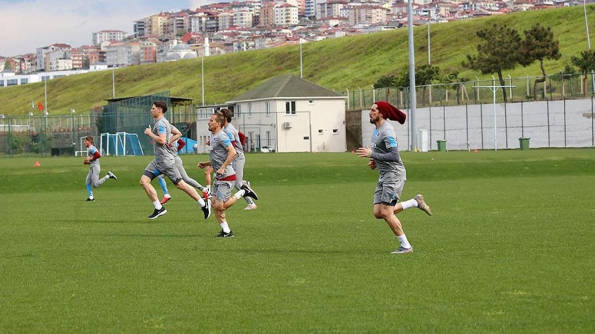 Trabzonspor 45 gün sonra sahaya indi