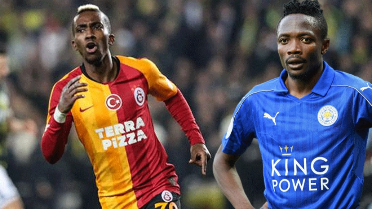 Onyekuru gidiyor Ahmed Musa geliyor! Galatasaray Ahmed Musa'yı kadrosuna katmaya çok yakın