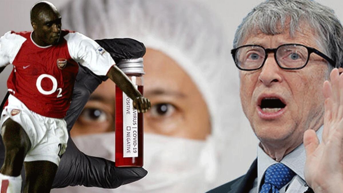 Koronavirüsle ilgili komplo teorisine Sol Campbell de katıldı! 'Belirli bir kan grubuna mı saldırıyor?'