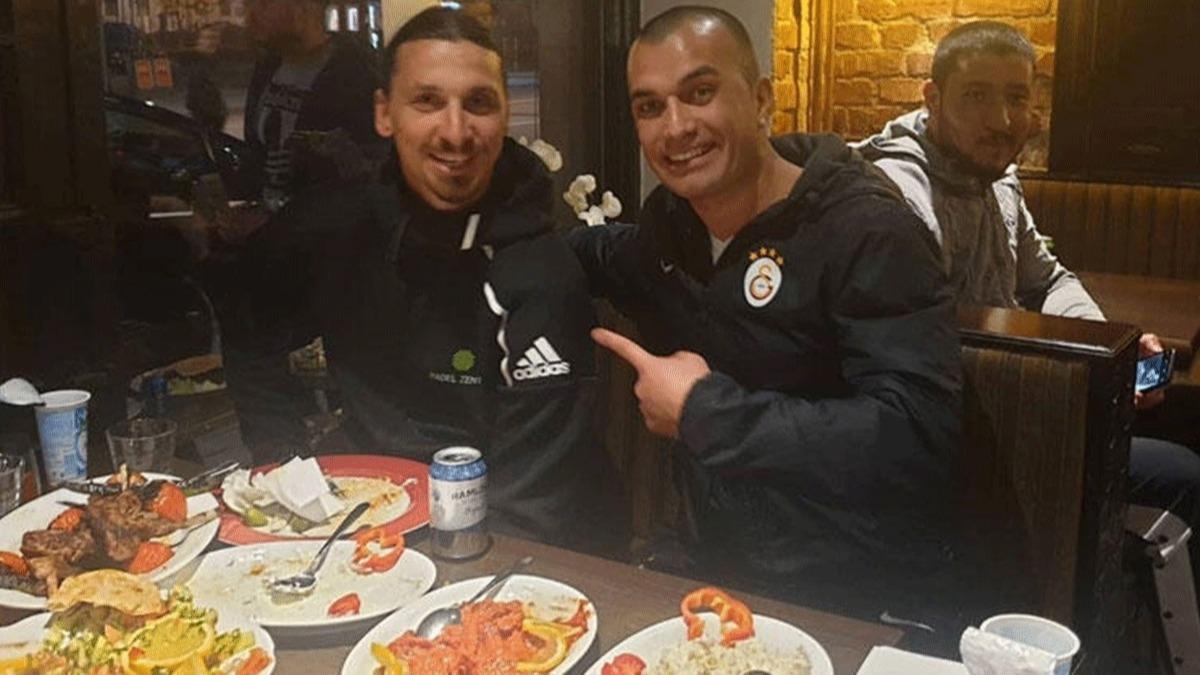 Zlatan Ibrahimovic iftar sofrasında! Türk restoranında iftar yaptı
