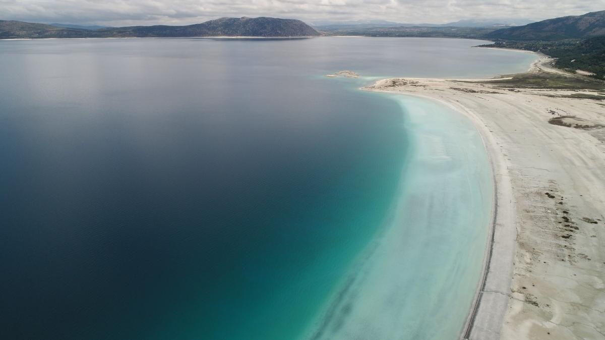 Salda Gölü eski görüntüsüne kavuşturuldu