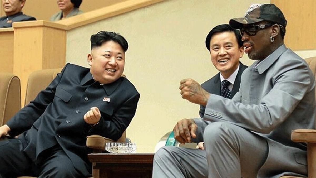 NBA efsanesi Dennis Rodman Kuzey Kore gezisini anlattı! 'Ordusunu ve füzelerini gördüm'