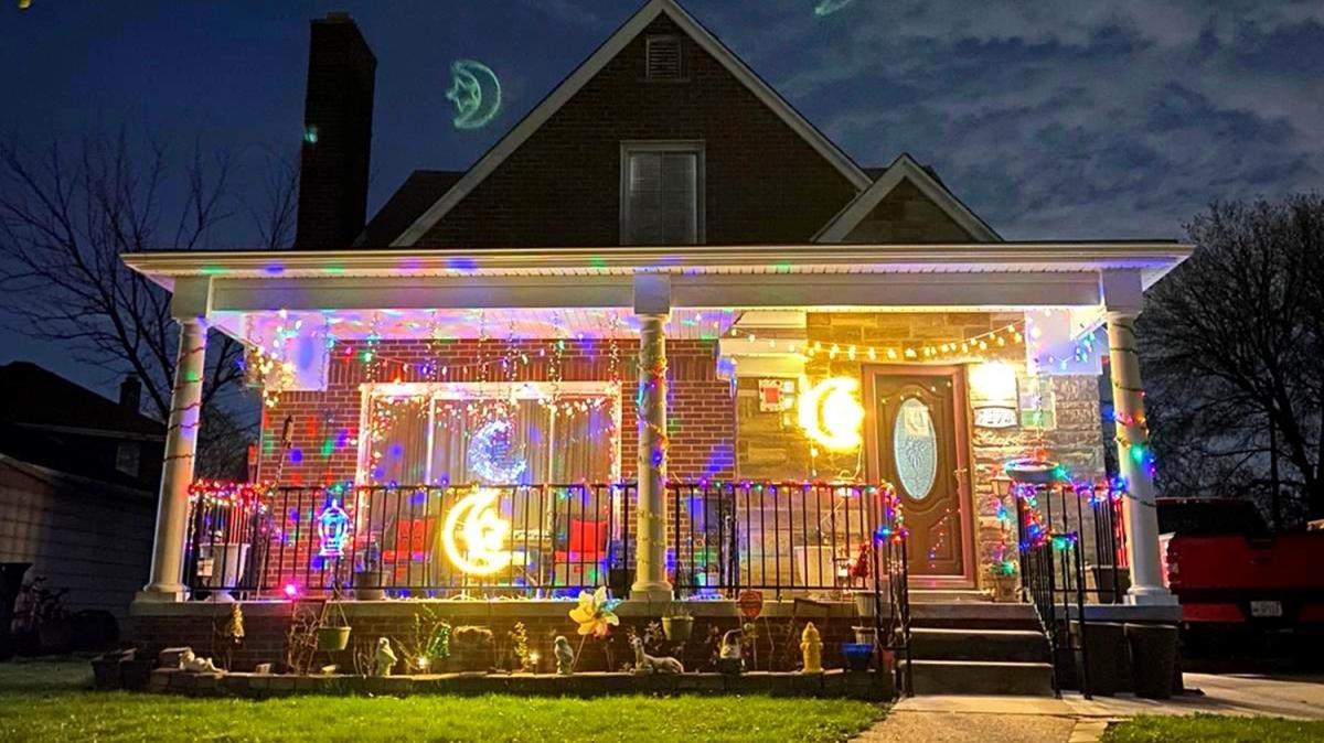 Kartpostallık görüntüler ortaya çıktı... ABD'de 'Ramazan ışıkları' yarışması