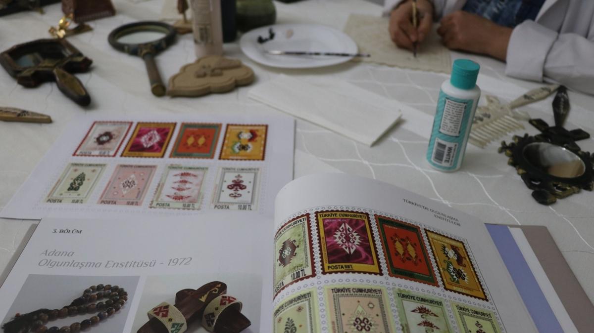 Asırlık Anadolu motifleri pullarda hayat bulacak