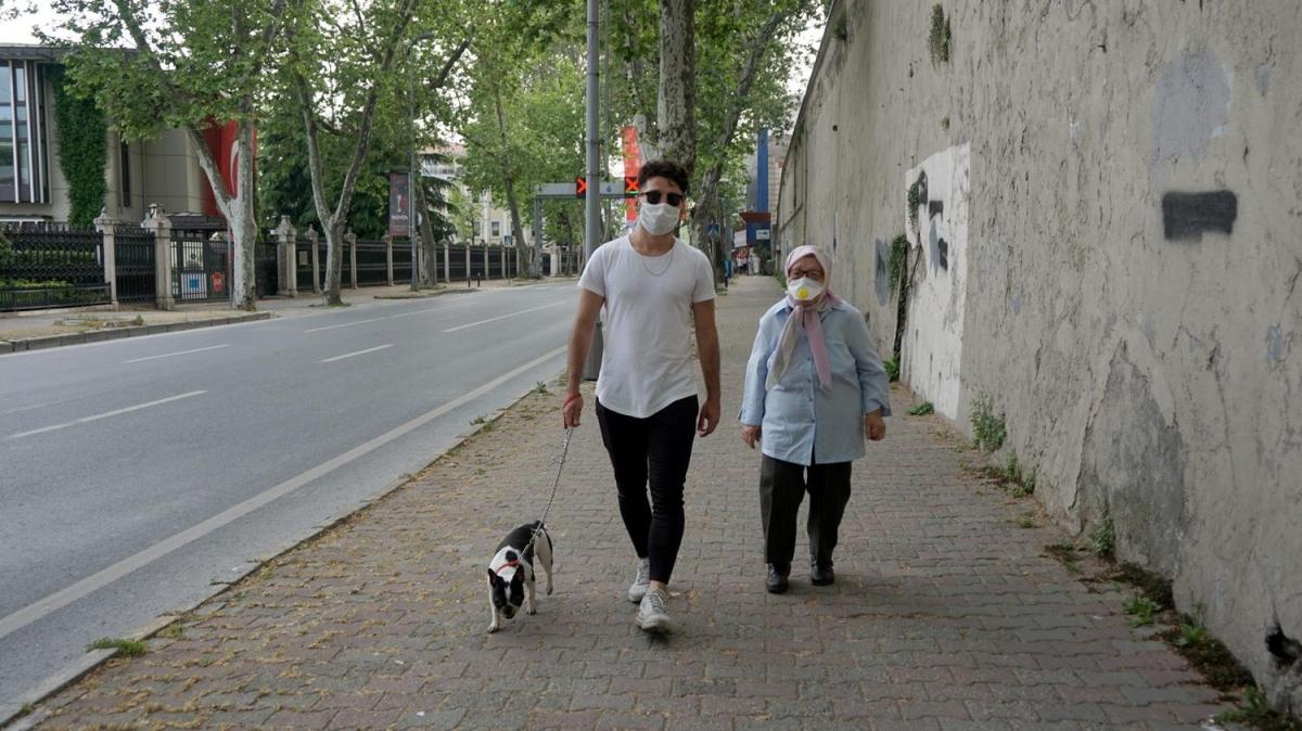 65 yaş ve üzeri vatandaşlar evlerine döndü