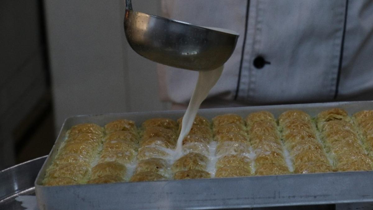 Türkiye'de bir ilk: Soğuk baklava üretti, siparişlere yetişemiyor