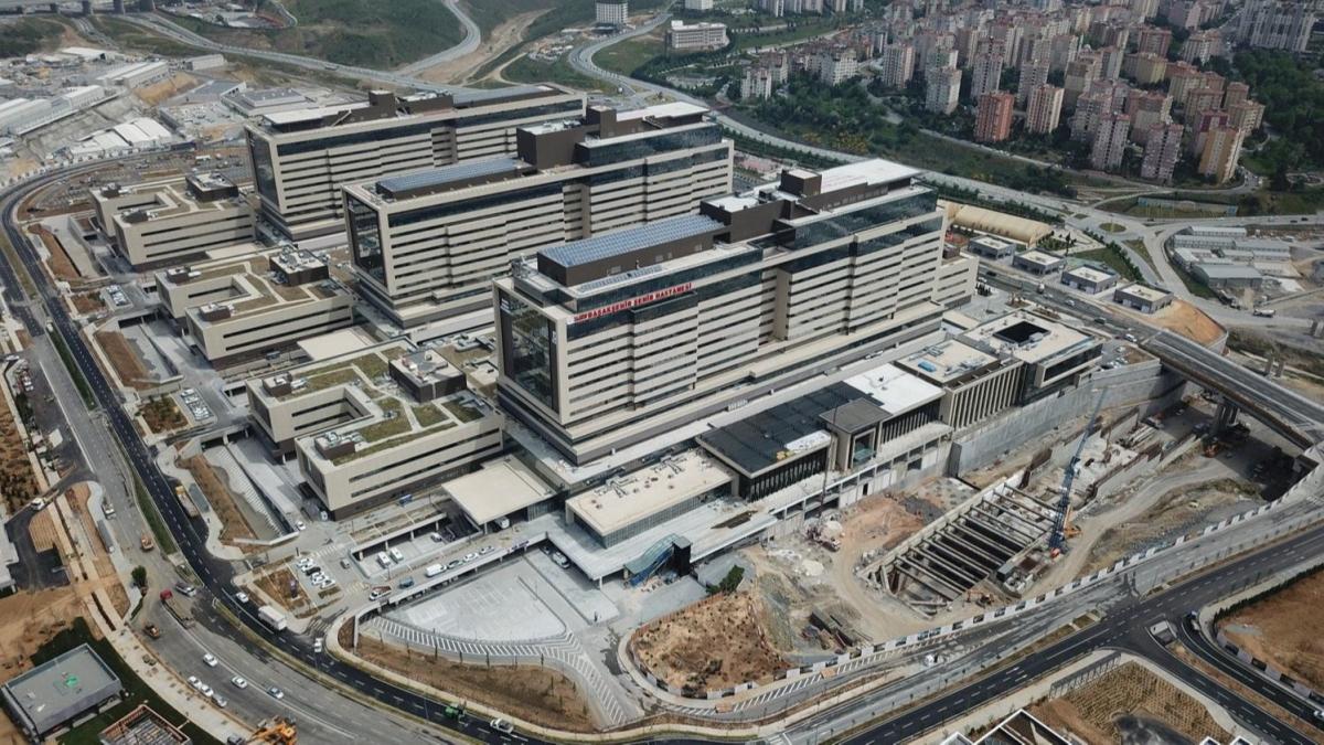 Açılışını Başkan Erdoğan yapacak! Son hazırlıklar havadan görüntülendi