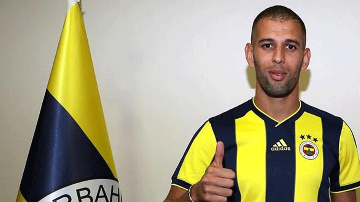 Islam Slimani'den Fenerbahçe itirafları! 'Türkiye'de bir çok şeye katlanmak zorunda kaldım!'