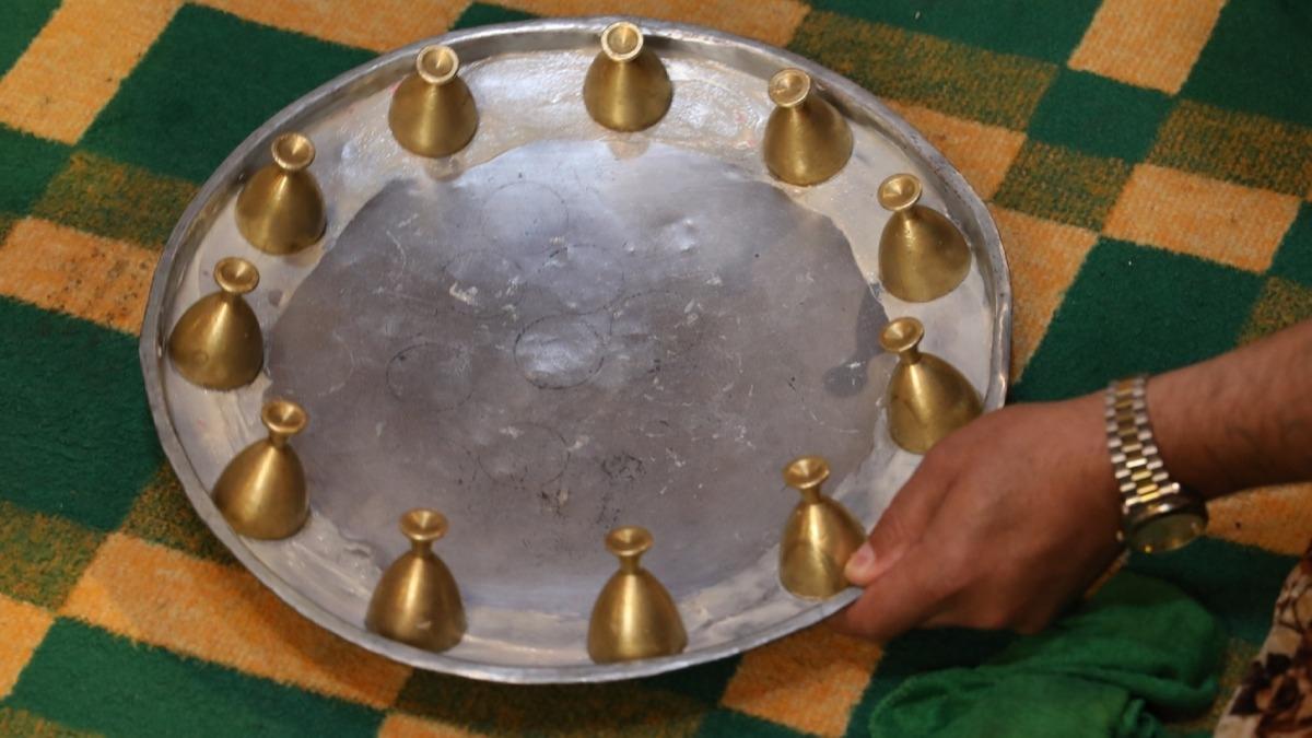 Ramazan gecelerinin vazgeçilmez eğlencesi... Türkmenlerin milli oyunu: Sini Zarf