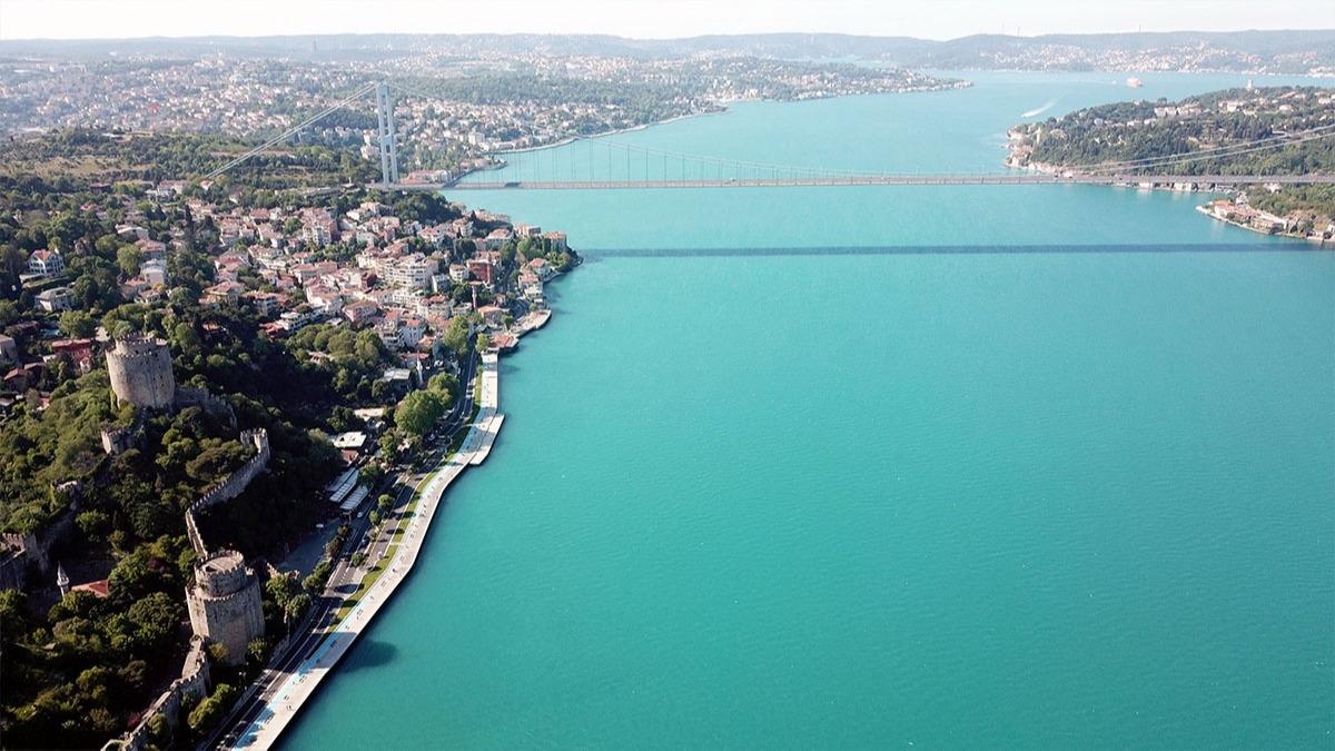 İstanbul Boğazı neden turkuaz oldu? Boğazın turkuaz olmasının nedeni belli oldu!