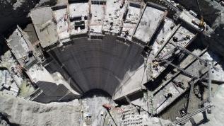 Türkiye'nin en yükseği, dünyada ise üçüncü olacak! 205 metreye ulaştı