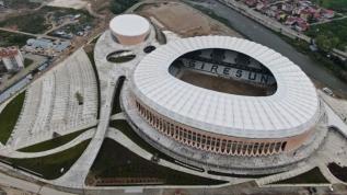 Giresun'un yeni stadı için son aşamaya gelindi