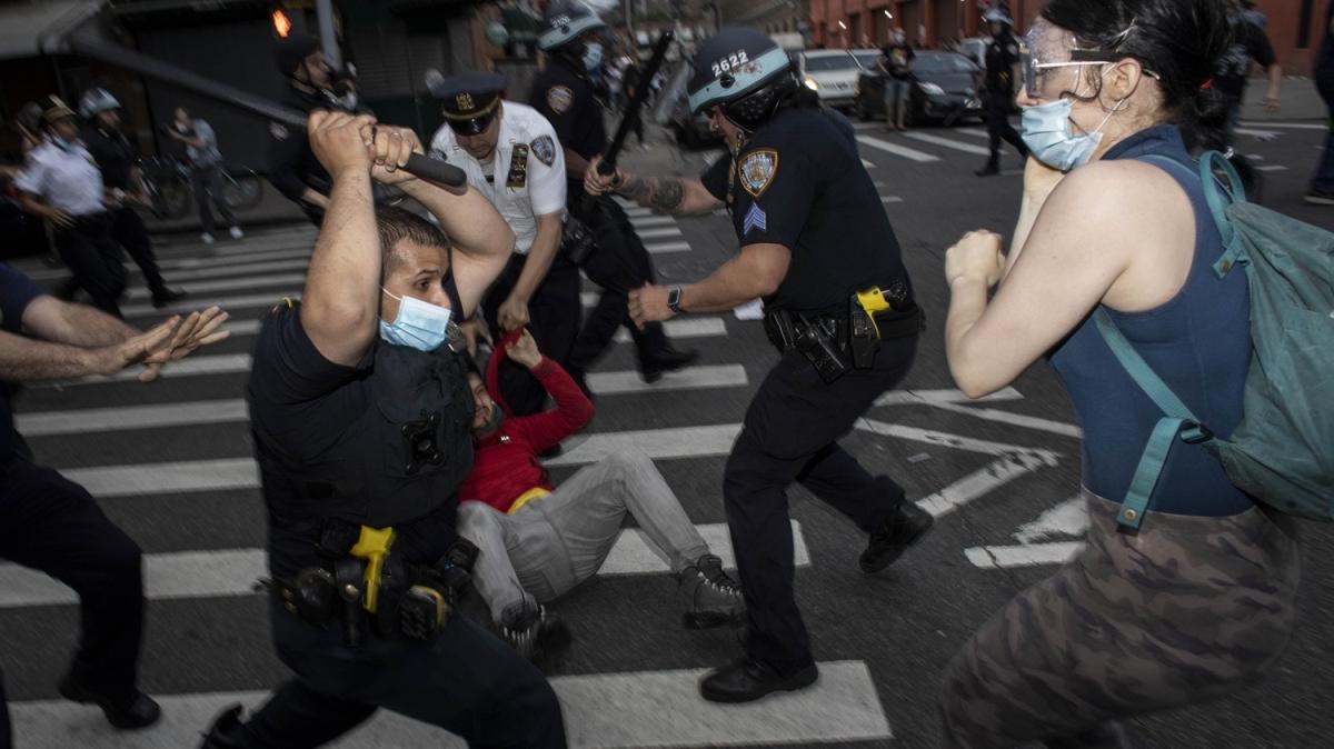 ABD'de gerilim büyüyor! Protestolar 4. gününde