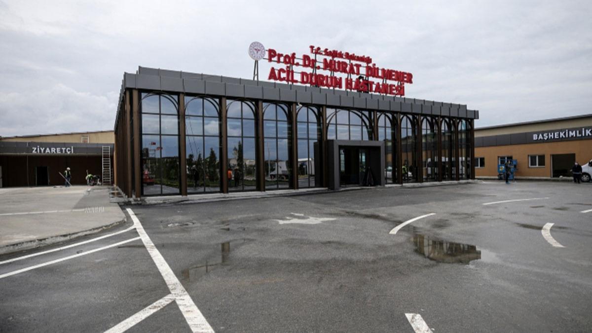 Atatürk Havalimanı'ndaki Prof. Dr. Murat Dilmener Hastanesi açıldı!