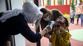 Koronavirüs nedeniyle ara verilen anaokulları ve kreşler 2.5 ay sonra hizmet vermeye başladı
