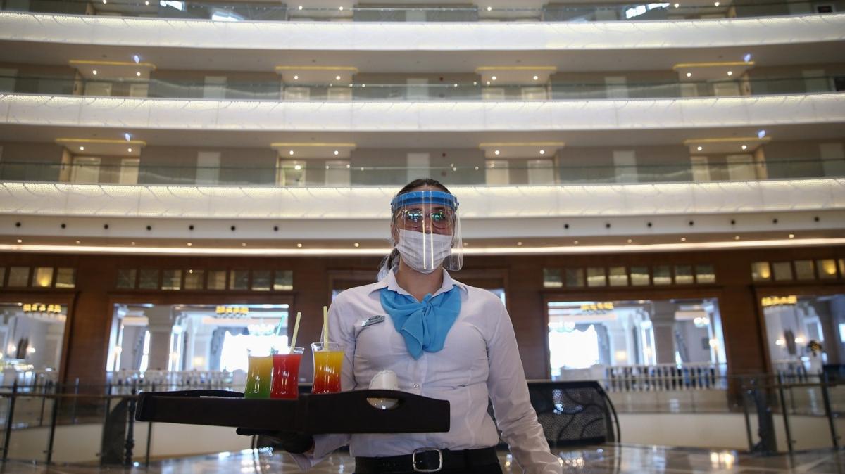 Turizmin başkentinde oteller hareketleniyor