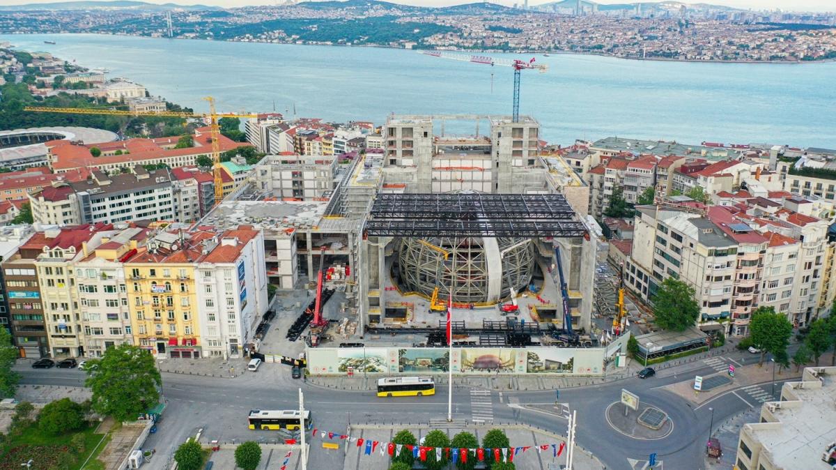 Temeli Başkan Erdoğan'ın katıldığı törenle atılmıştı: Geri sayım başladı