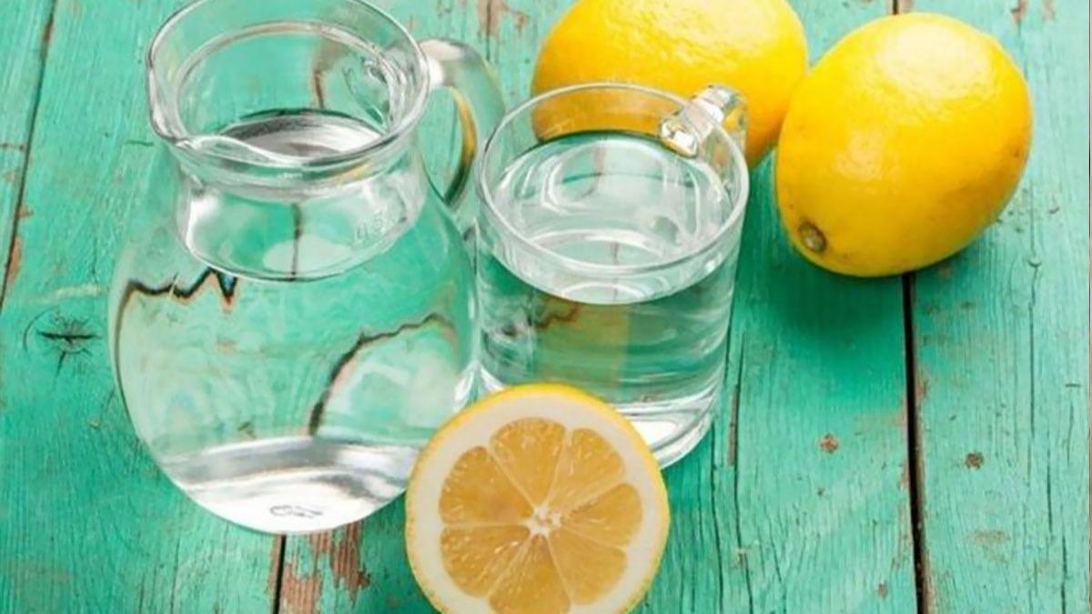 Limonlu suyun inanılmaz faydası! 1 ay boyunca limonlu su içince...