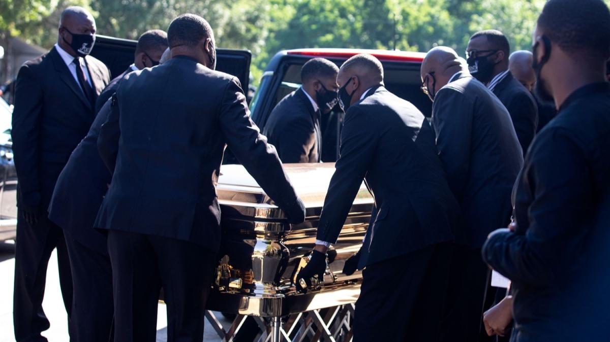 George Floyd için üçüncü cenaze töreni düzenlendi