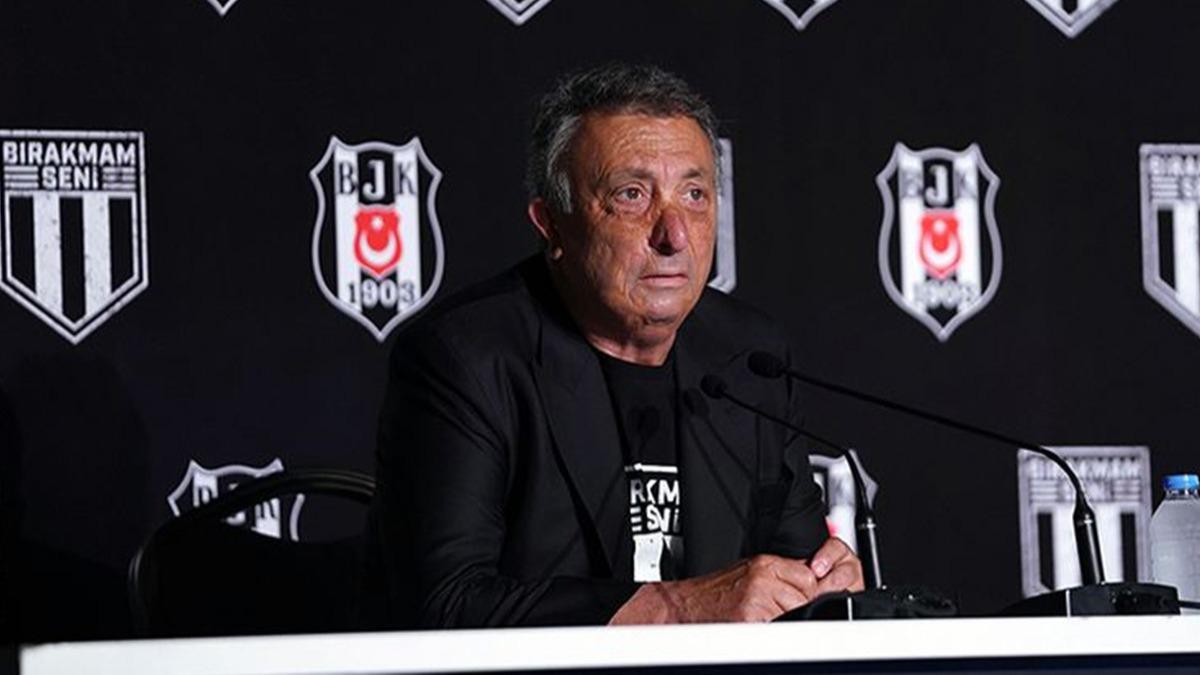 Beşiktaş'ta Başkan Çebi transferleri açıkladı! 'Cenk Tosun'a mesaj yolladı'