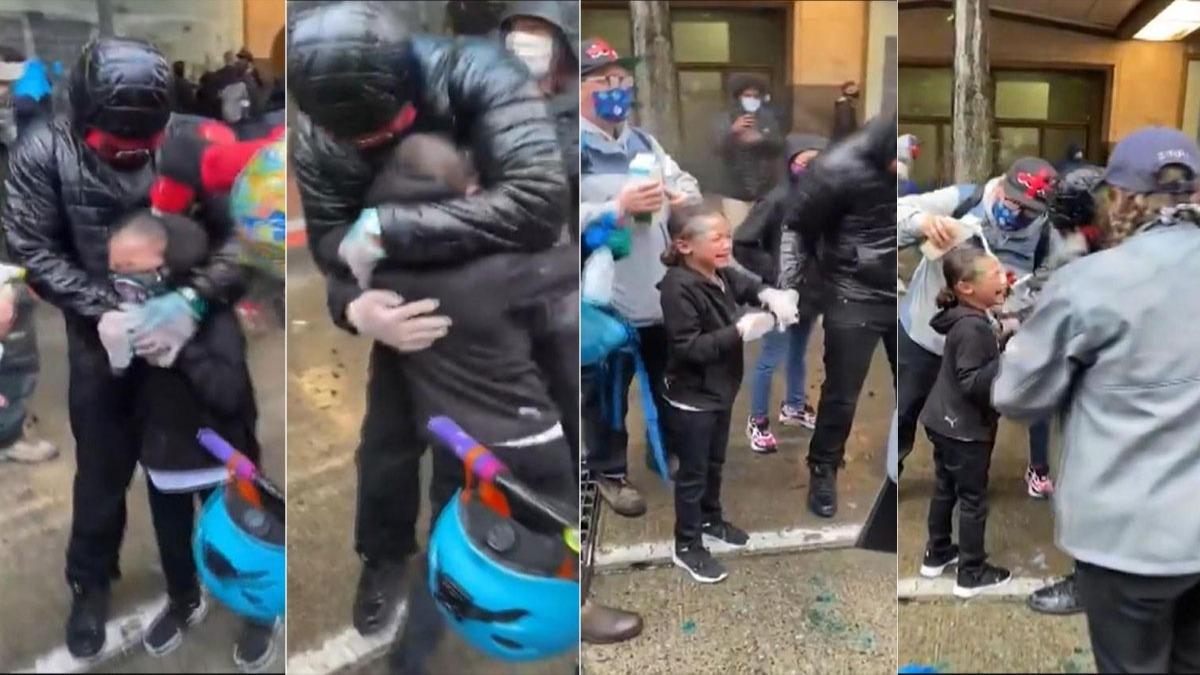 ABD polisi çizgiyi aştı! 7 yaşındaki çocuğa bunu yaptı