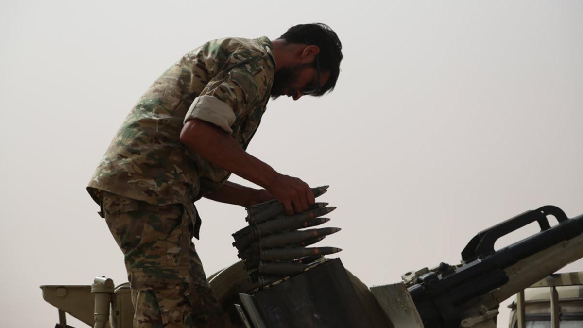 Sirte hattında eller tetikte! Libya Ordusu: Hazırız! Talimatları bekliyoruz