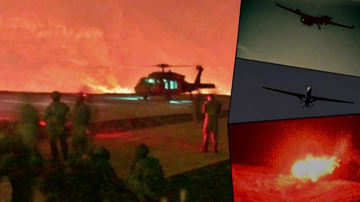 Pençe-Kaplan Operasyonu başladı: Komandolarımız Irak'ın kuzeyinde! MSB görüntüleri paylaştı