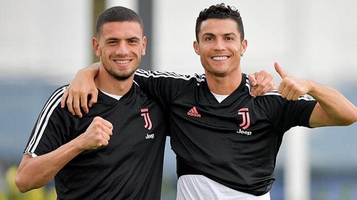 Merih Demiral Juventus'daki en iyi arkadaşını açıkladı 'Ronaldo ile ilginç anısını anlattı'