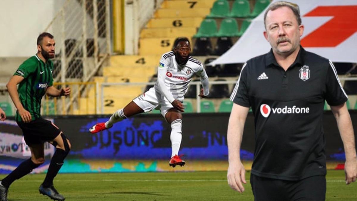 N'Koudou'nun golüne Sergen Yalçın'ın tepkisi olay oldu!