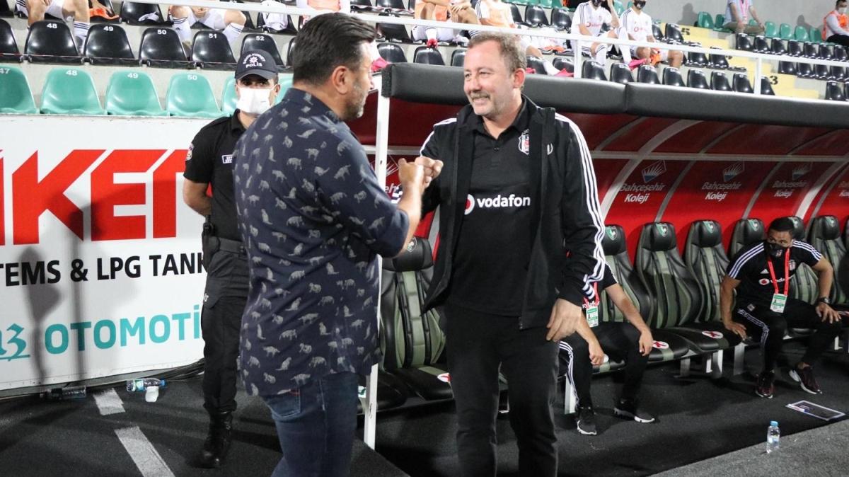 Denizlispor - Beşiktaş maçında Sergen Yalçın'ı isyan ettiren olay!