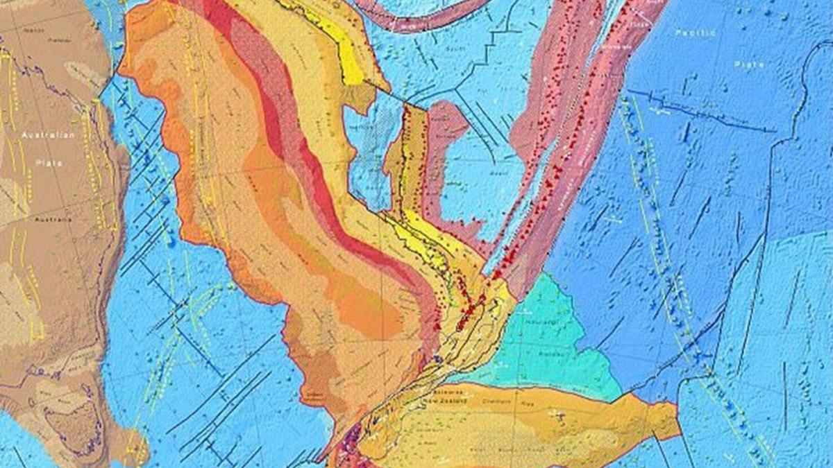 'Kayıp Kıta'nın haritası çıkarıldı