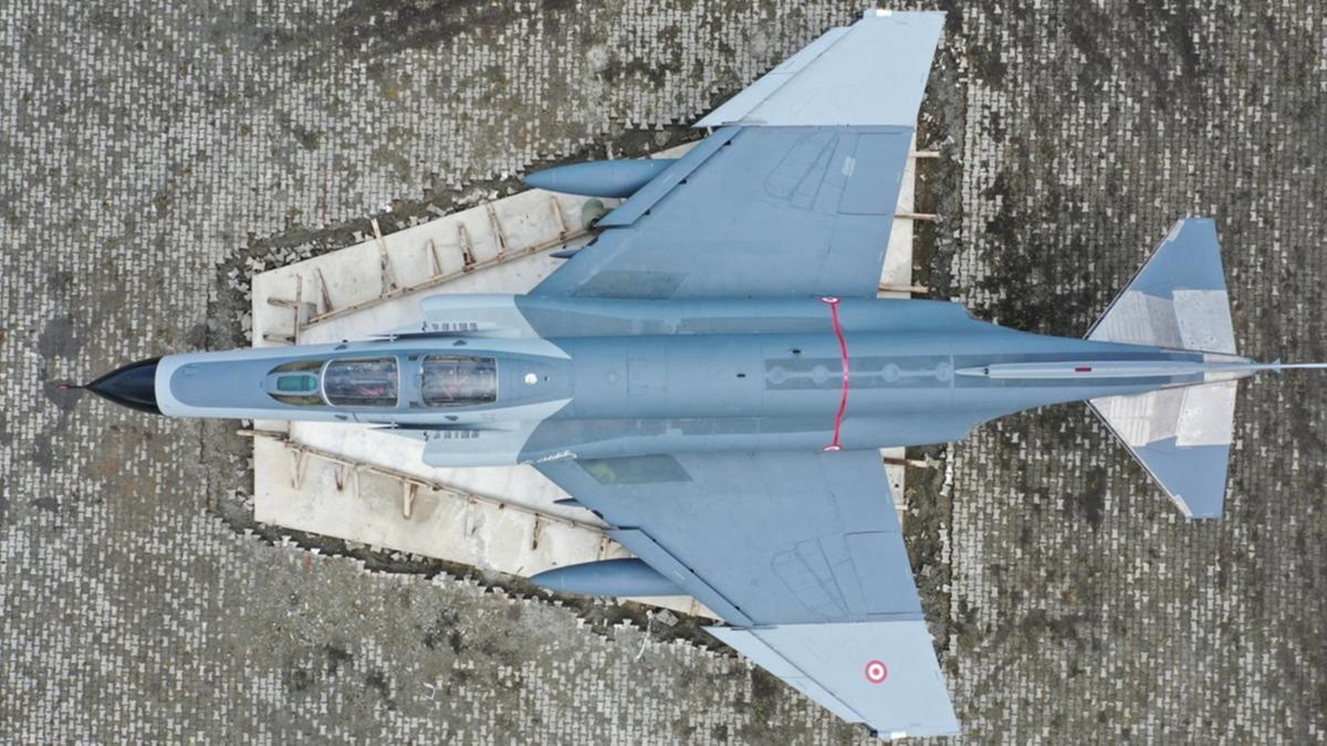 Türk Hava Sahası'nın emektar terminatörü: F-4 Fantom-2 artık Rize'de!