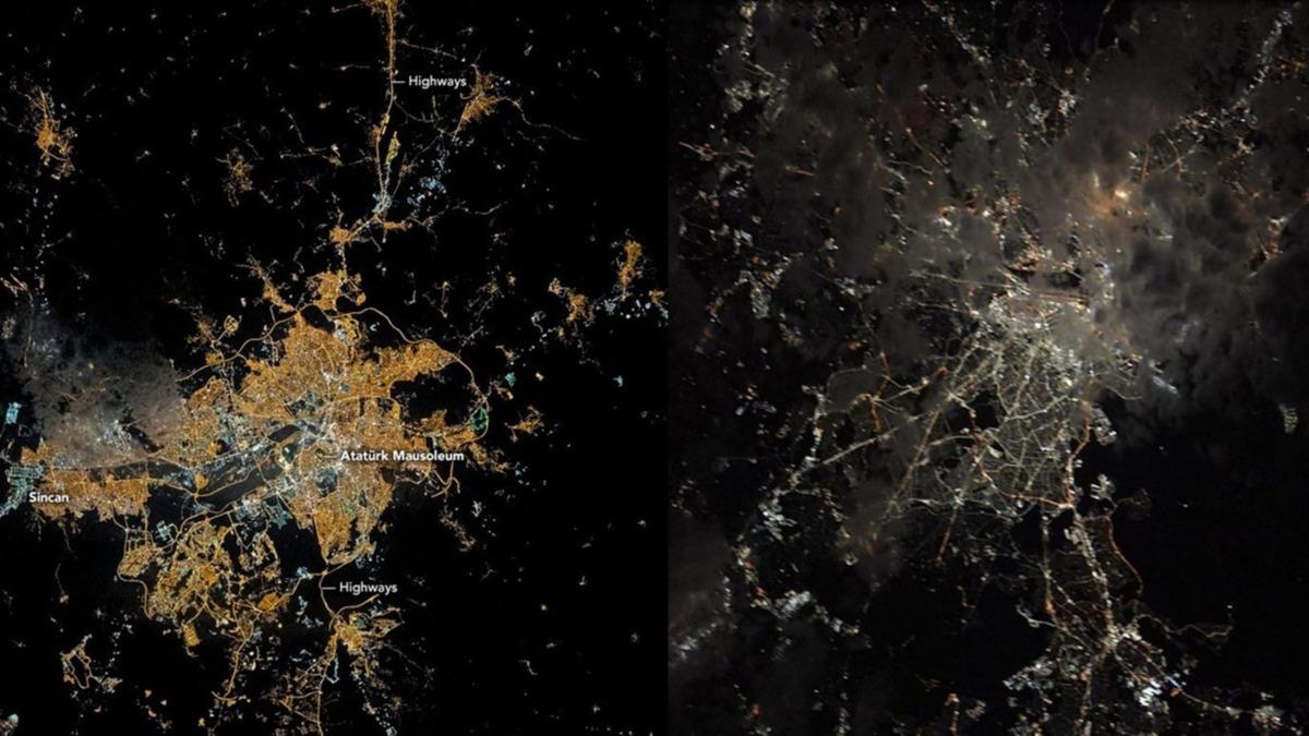 NASA Ankara'dan fotoğraf paylaştı! İşte astronotların gözünden 'Dünya'