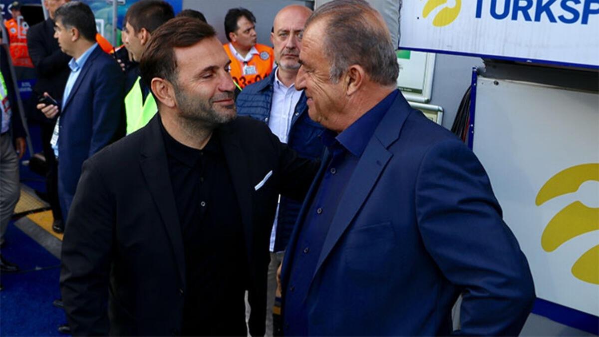 Galatasaray'da Fatih Terim'in yerine Okan Buruk
