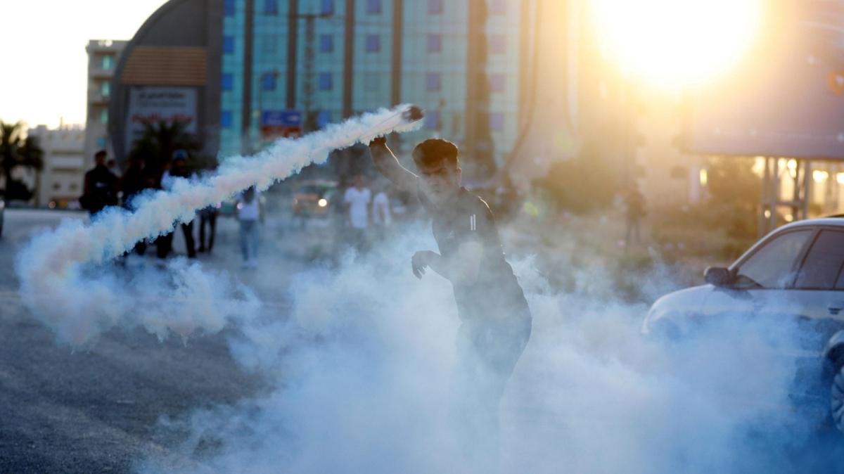 İsrail'in 'ilhak' planı Batı Şeria'da protesto edildi
