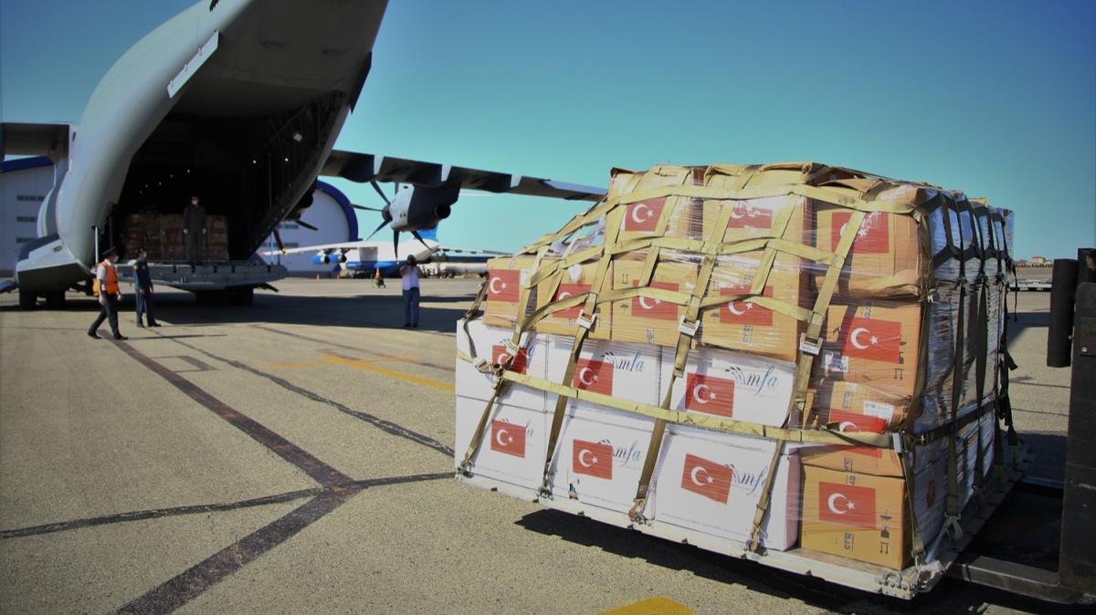 Türkiye'den kardeş ülkeye yardım eli! Başkan Erdoğan: Her türlü katkıyı sağlamaya hazırız
