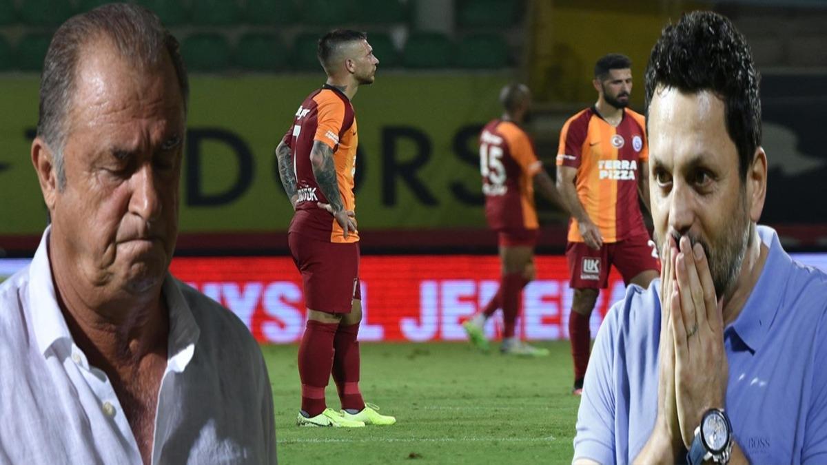 Galatasaray'da Erol bulut kabusu! Fatih Terim'in kariyerinde bir ilk