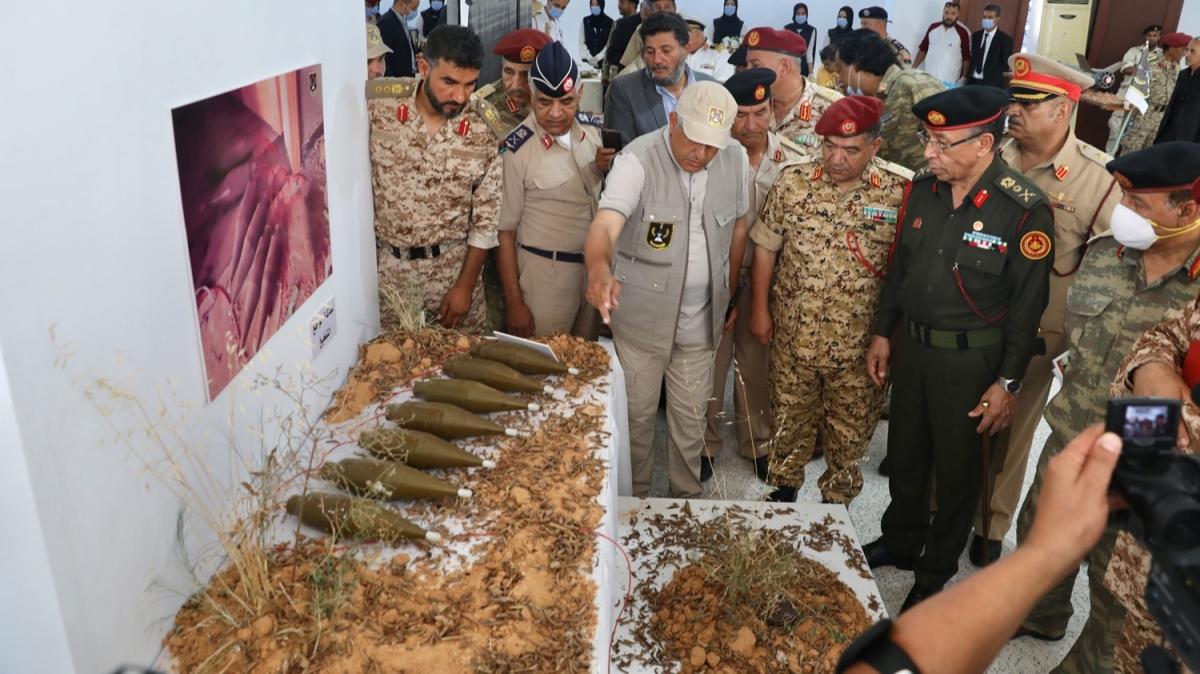 Hafter milisleri sivil yerleşimlere tuzakladı! Mayınlar sergilendi
