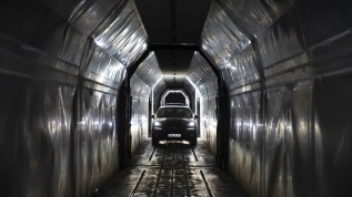 Yılın ilk 'arabalı treni' Kapıkule'den giriş yaptı!