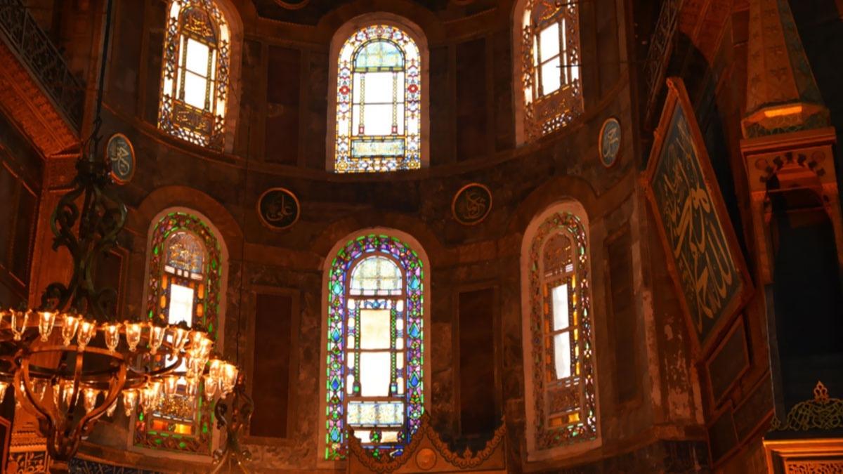Ayasofya'da ilk namaz nasıl olacak? İşte Ayasofya Camii'nden son görüntüler